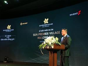 Ra mắt nhà phố thương mại - Shophouse Sun Group Hạ Long